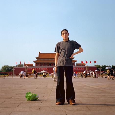 Han Bing_Walking the cabbage