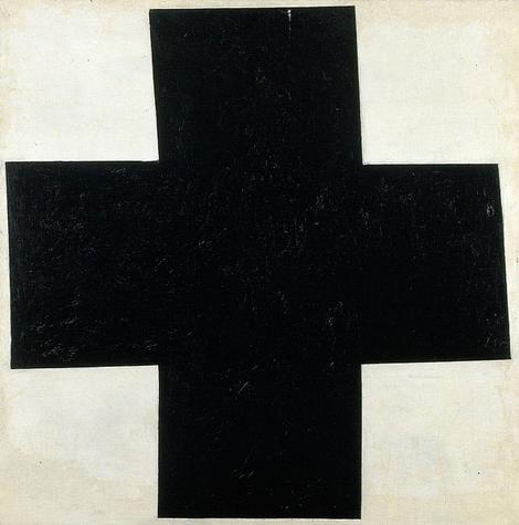 Malevitch-Croix_noire-1913